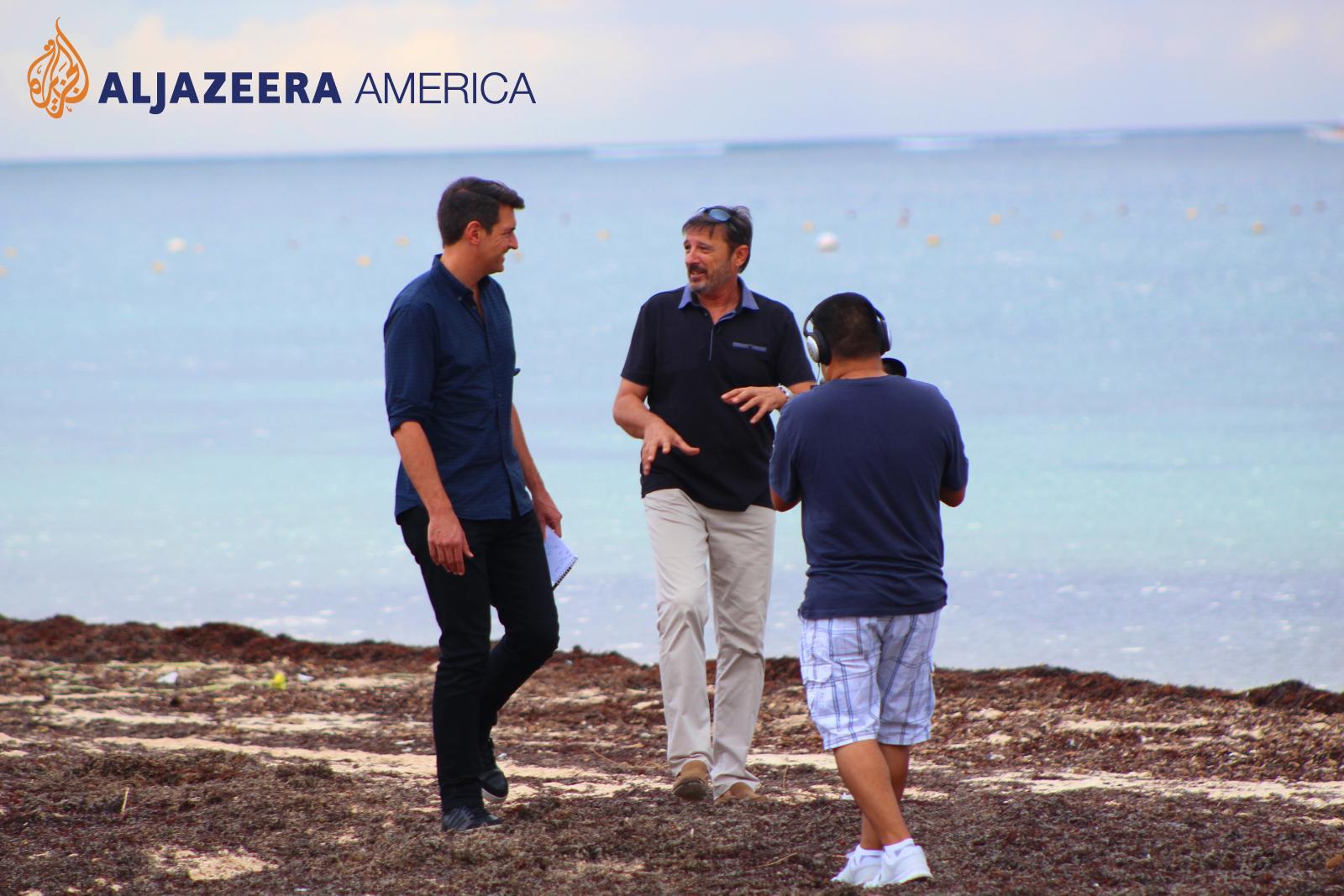Jonathan BETZ for Al Jazeera America News & Denis JIMENEZ in Puerto Morelos, Mexico
